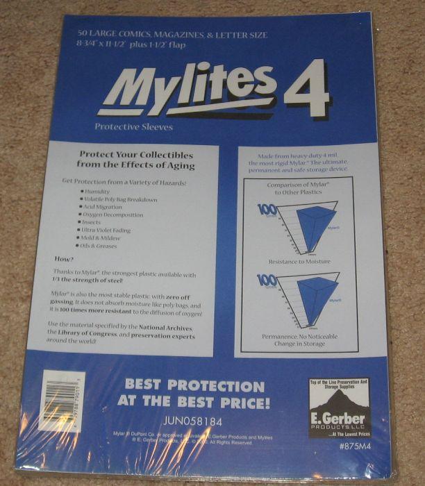 Oversize Comic Mylite