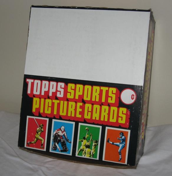 1984 Topps Baseball Rack Box