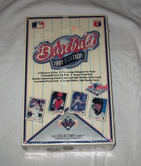 Upper Deck Baseball Cards 1990 Value