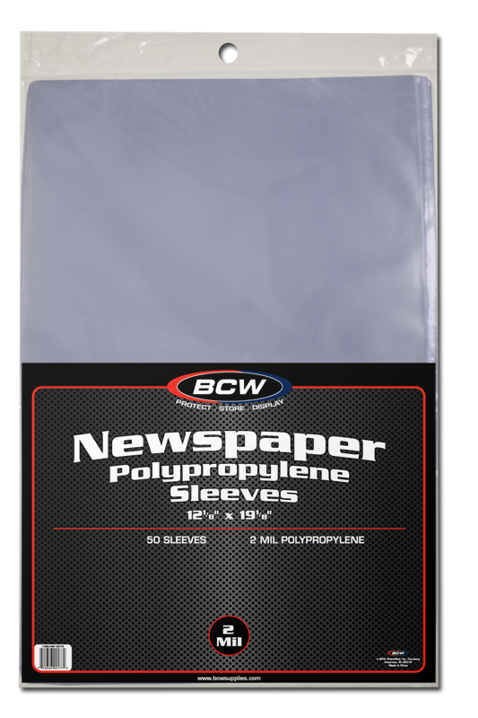 Newspaper Sleeves