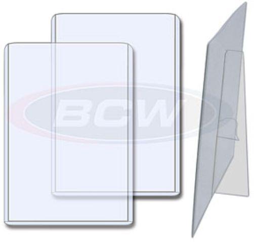 125 Bcw 4x6 Photo Postcard Hard Plastic Topload Holders W