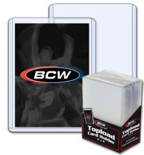 Trading Card Topload Holders - Case of 1000