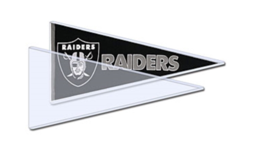 Hard Plastic Topload Holders for Trading Cards, Pennants, Currency, Postcards, Tickets, Photos, and Large Posters