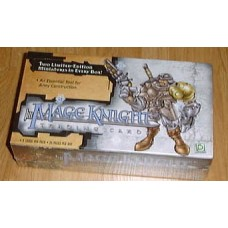Sealed 24 Pack Wax Box 2001 Mage Knight Trading Cards
