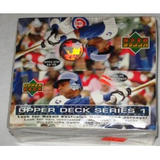 Sealed Retail Box 2003 Upper Deck Baseball Cards Series 1