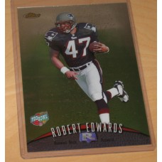 1998 Topps Finest Pro Bowl Jumbo Robert Edwards Rookie