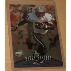 1998 Topps Finest Pro Bowl Jumbo Barry Sanders