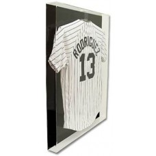 BCW Deluxe Acrylic Large Jersey Display Case w/ Black Back #AD19