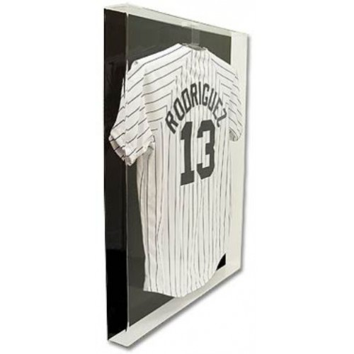 Bcw Deluxe Acrylic Large Jersey Display Case W Black Back Ad