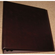 "BCW 3"" Burgundy Plain / Blank D-Ring Album binder"