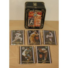 Cooperstown Collection Metal 5-Card Set Willie Mays and 4 Others