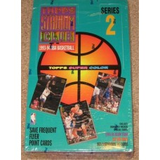 Sealed Box 1993-94 Topps Stadium Club Basketball Series 2 Cards