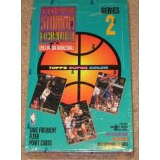 Sealed Box 1993-94 Topps Stadium Club Basketball Series 2 Cards