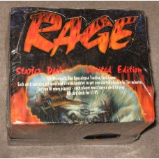 Factory Sealed Deck Box Rage Limited Edition Gaming Cards