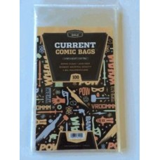 Case / 1000 CBG Current Comic Book Clear Archival 2Mil Poly Bags