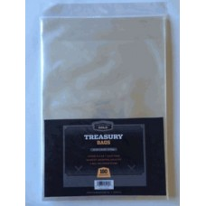 Case of 1000 CBG Treasury Comic Book 2 Mil Archival Poly Bags