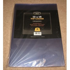 Pack of 10 CBG 12x18 Hard Plastic Topload Photo / Print Holders