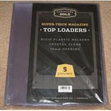 Case of 50 CBG Super Thick Magazine / Program Topload Holders