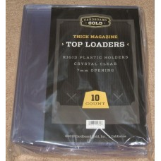 Case of 50 CBG 9 x 11.5 x 7mm Magazine Rigid Topload Holders