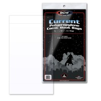 Case of 1000 BCW Current Comic / Modern Book Acid Free Poly Bags