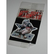 New 3 Inch Die Cut Emmitt Smith 1996 NFL Superstar Magnet