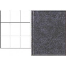 18 BCW Plain Black Trading Card Combo Albums + 9-Pocket Pages
