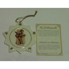 Hummel Christmas Tree Ornament #B549 Angelic Song