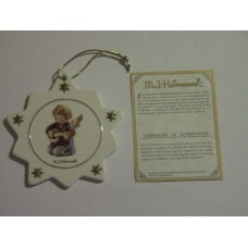 Hummel Christmas Tree Ornament #B566 The Accompanist