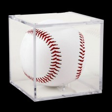 One New Ballqube Grandstand Baseball Holder Square Cube