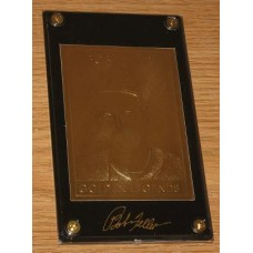 22Kt Golden Legends Baseball Gold Card - Bob Feller