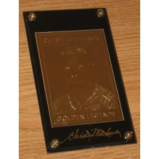 22Kt Golden Legends Baseball Gold Card - Christy Mathewson