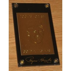 22Kt Golden Legends Baseball Gold Card - Rogers Hornsby
