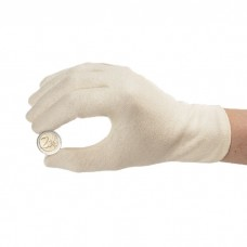 1 Pair Lighthouse White Cotton Coin Inspection / Handling Gloves