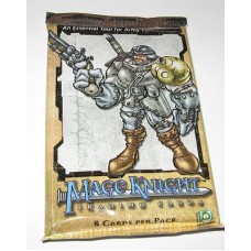 Unopened Pack 2001 Upper Deck Mage Knight Trading Cards