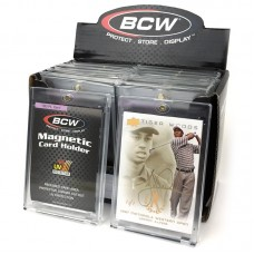 120 BCW 180 Point UV Protected Magnetic Trading Card Holders