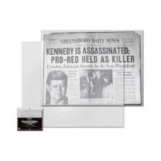 Pack of 100 BCW Newspaper Acid Free Poly Bags - 13 3/8 x 11 7/8