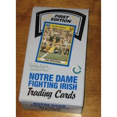 Unopened Box 1990 Notre Dame Fighting Irish Collegiate Cards