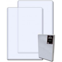 Case of 50 BCW 11 x 17 - Hard Plastic Topload Photo Holders
