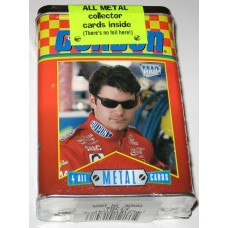 1996 Team Metal Jeff Gordon 4 Metal Card Tin Set