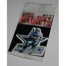 New 3 Inch Die Cut Troy Aikman 1996 NFL Superstar Magnet