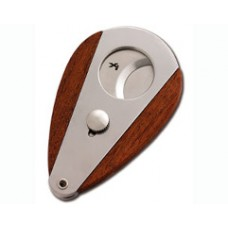New Xikar Xi3 Xi3Rw Redwood Stainless #300 Cigar Cutter