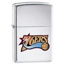 Zippo Lighter 20742 Philadelphia 76ers NBA Team Logo
