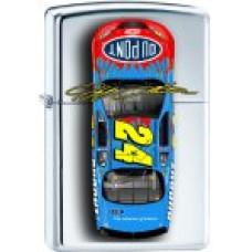NASCAR Zippo Lighter ZM1019 Jeff Gordon 24 Car Top View