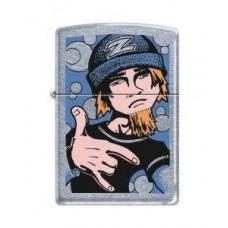 Street Chrome Zippo Lighter Rave Boy 2 Design