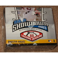 Factory Sealed Booster Box 2003 MLB Showdown Trading Deadline CCG Gaming Cards