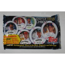 Factory Sealed Unopened Pack 2013 Topps MLB Chipz Baseball Collector Chips