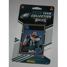 2016 Donruss Football Philadelphia Eagles 12 Card Team Set - Carson Wentz Rookie