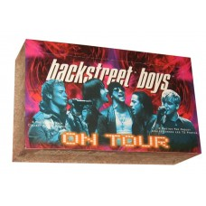 Factory Sealed Unopened Box 2000 Winterland Backstreet Boys On Tour Photo Cards