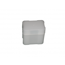 5 CoinSafe 1oz Silver Bar / Ingot White Plastic Rectangular Storage Tubes