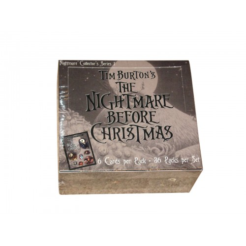 Factory Sealed Box Nightmare Before Christmas Movie